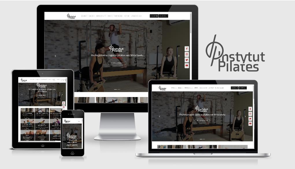 Strona internetowa dla Instytut Pilates