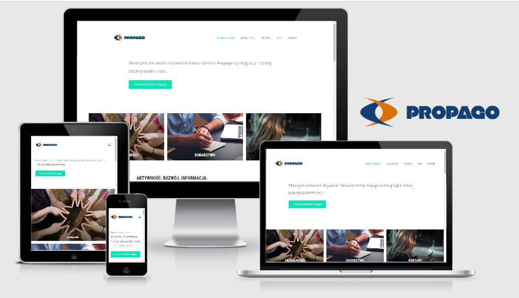 Strona internetowa dla organizacji ProPago